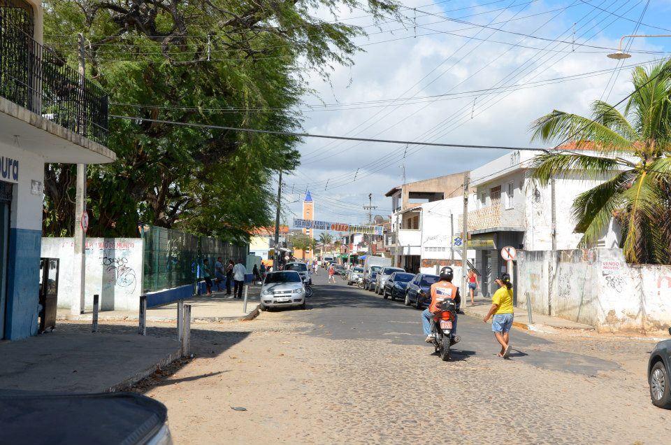 Грязоватые улочки в Бразилии