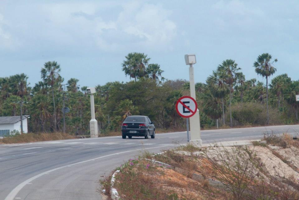 Радары на дорогах в Бразилии