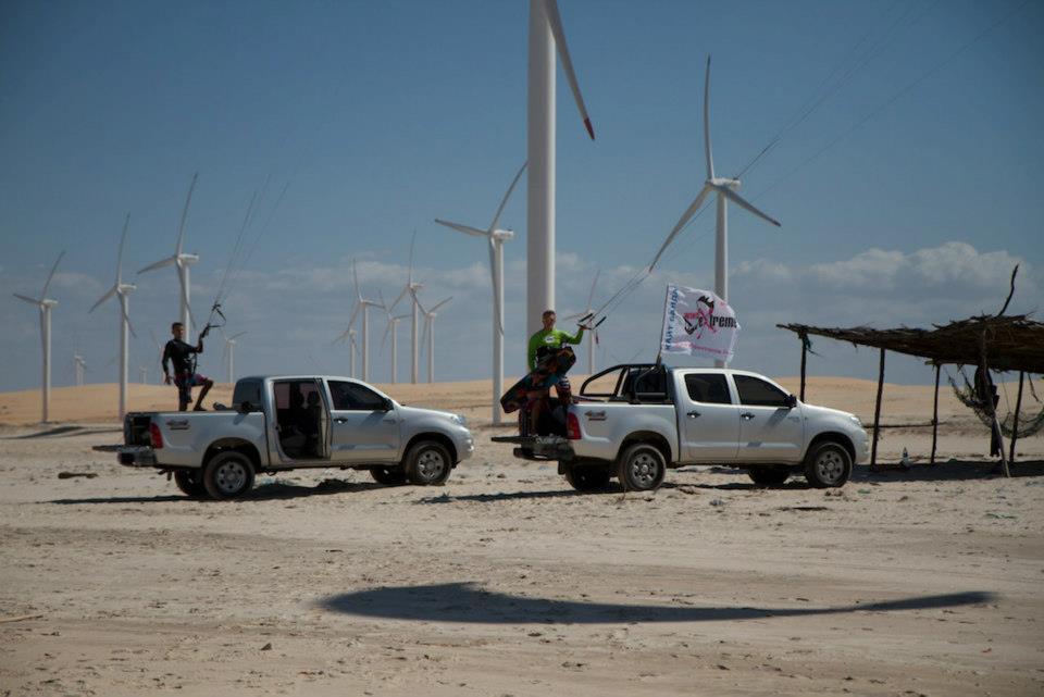 Ветряки на кайт спотах в Бразилии