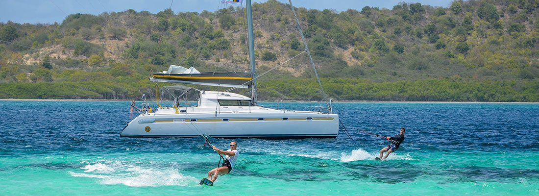 Кайтсерфинг на Карибских островах