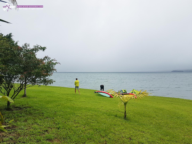 Кайтсерфинг на озере Ареналь, Коста Рика