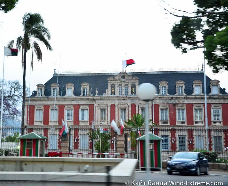 Дворец в столице Мадагаскара