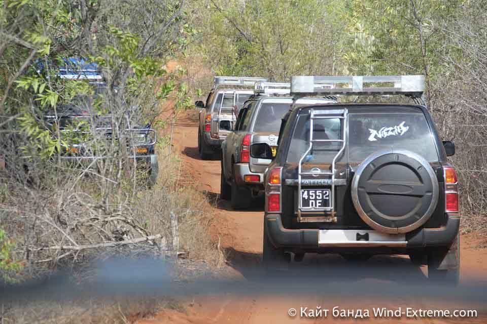 Кайт банда Wind-Extreme едет на экскурсии по Мадагаскару