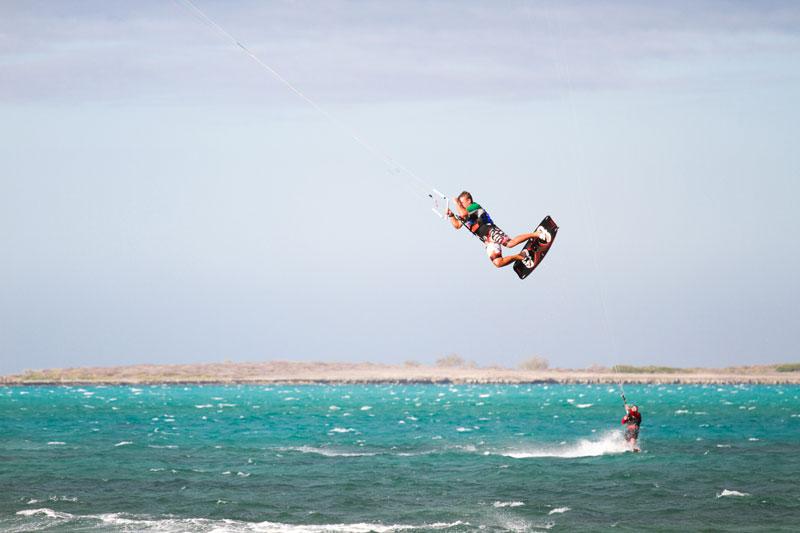 Кайтсерфинг в Babaomby на Изумрудном море