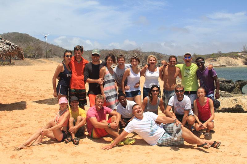 Кайт банда Wind-Extreme на Мадагаскаре в Babaomby
