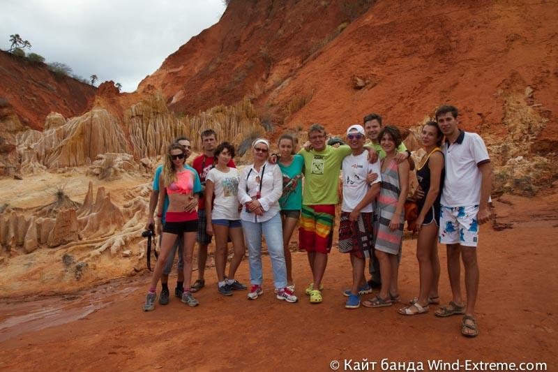 Заповедник Red Tsingy Мадагаскаре