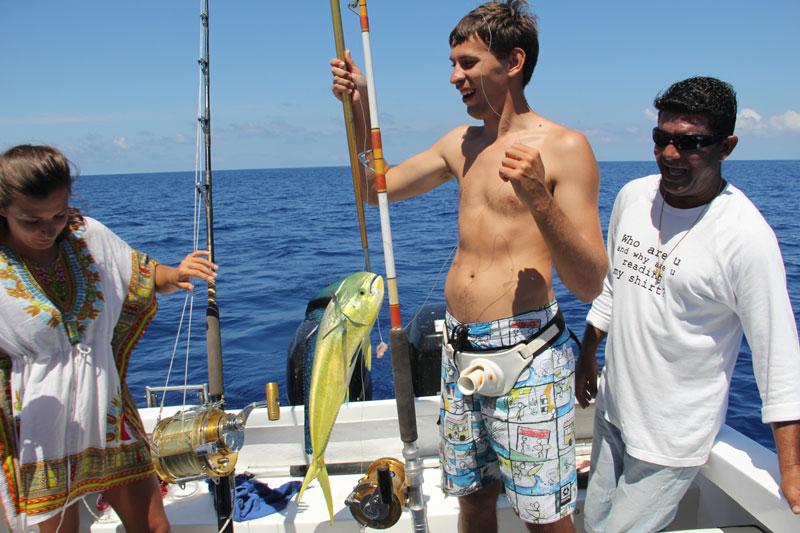 Ловим рыбу в Babaomby