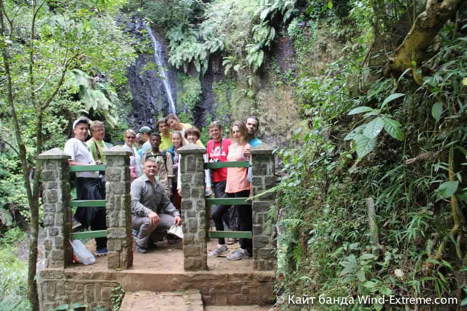 Небольшой водопадик на Мадагаскаре