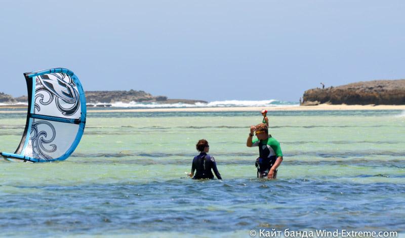 Кайт школа Wind-Extreme на Мадагаскаре