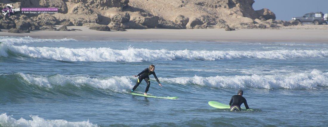 Серфинг в Дахле, кайт кэмп ВиндЭкстрим