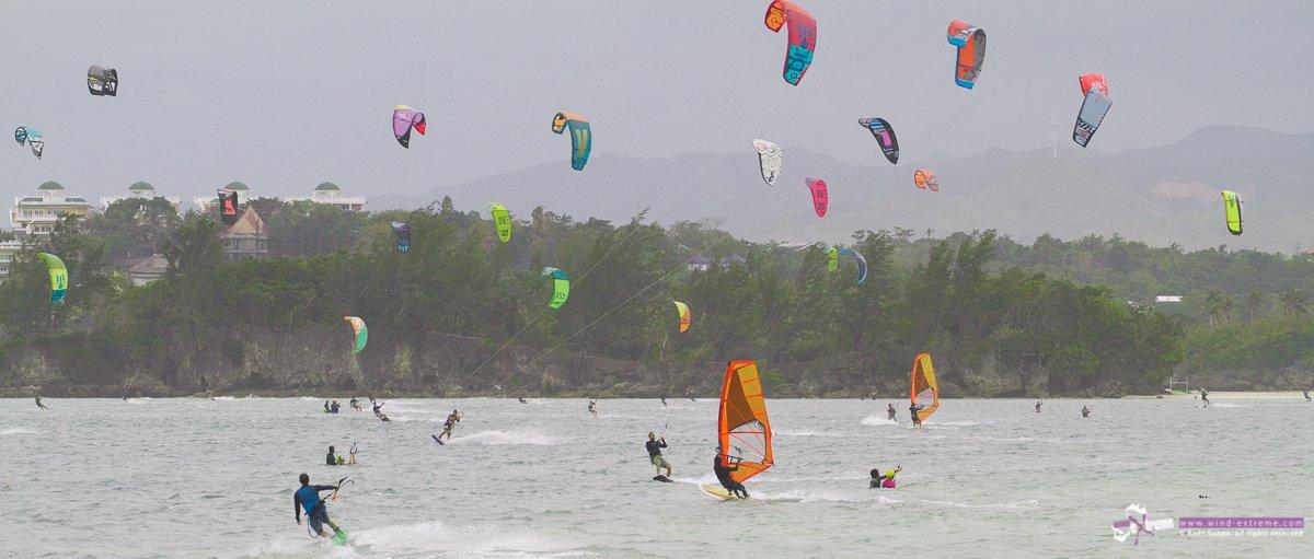 Кайтсерфинг на Боракае, Филиппины
