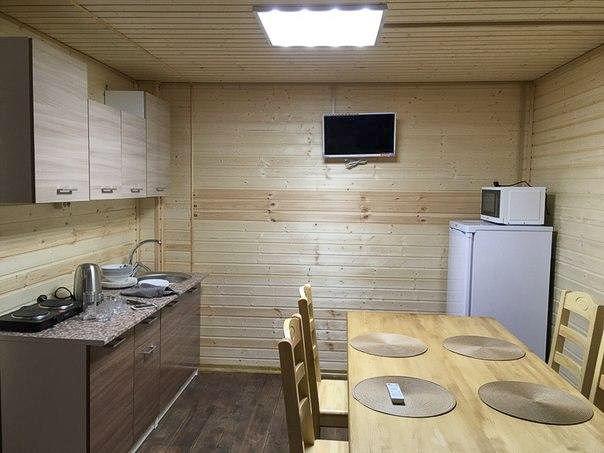 Дом на Тундра Кайт сноу кайт кемпе - кухня