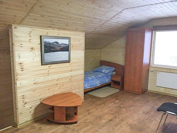 Дом на Тундра Кайт сноукайткемпе - кровать