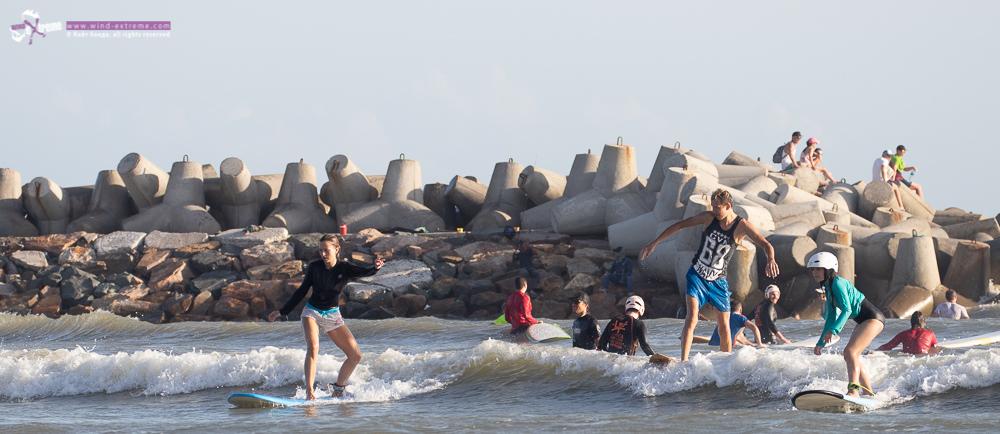 Обучение серфингу во Вьетнаме