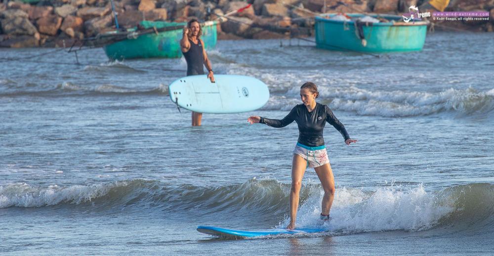 Школа серфинга во Вьетнаме